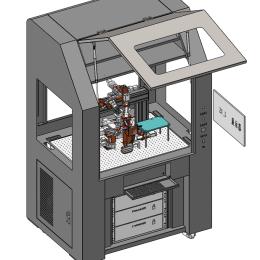 BOX封装透镜自动耦合系统