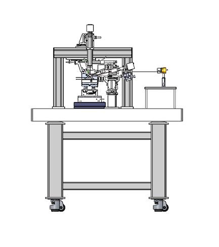 蝶形激光器自动耦合系统